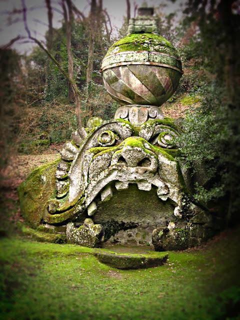 Sacro Bosco de Bomarzo parque de los monstruos