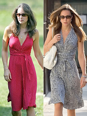 Kate Middleton fashionable