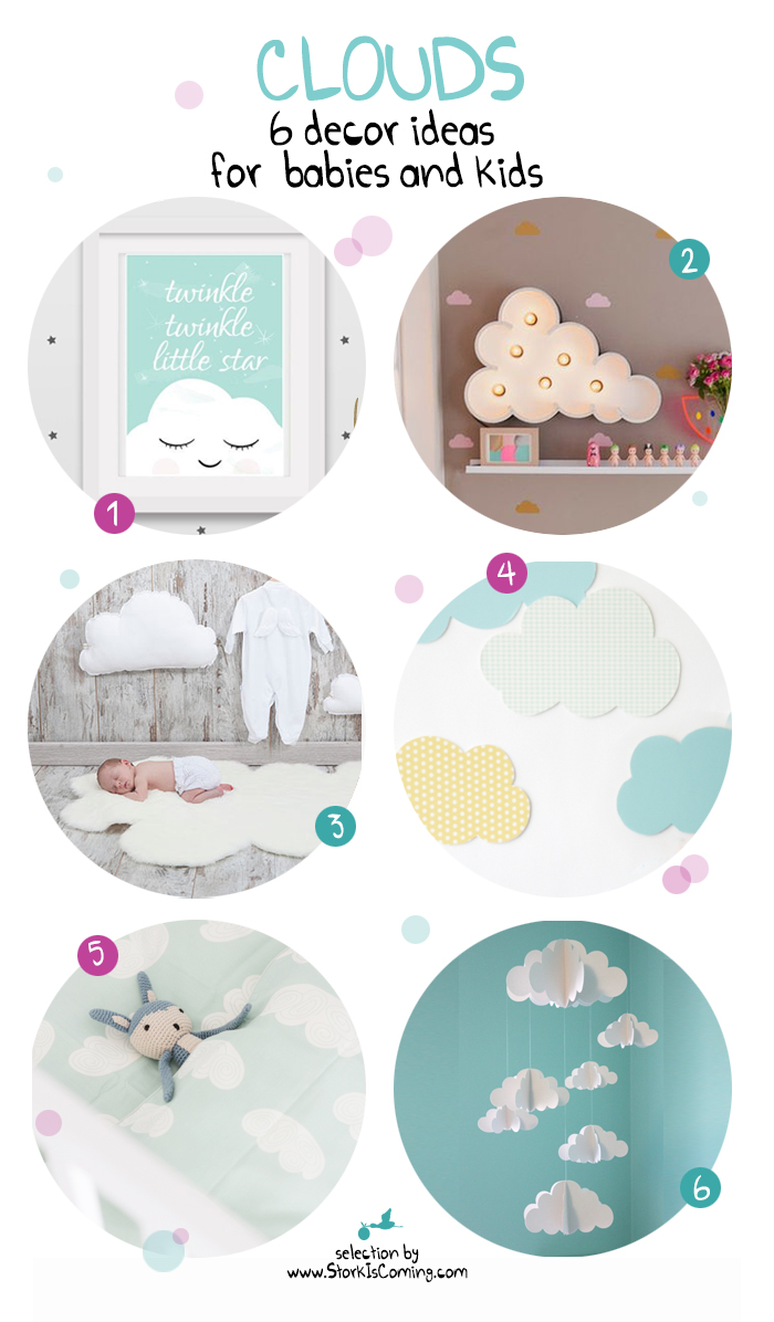 6 decor ideas with clouds