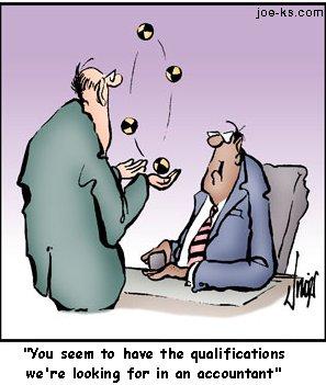 Accountant Cartoon5