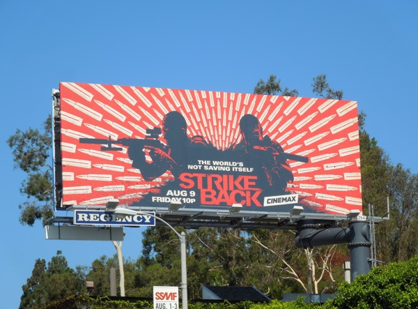 Strike Back season 3 billboard