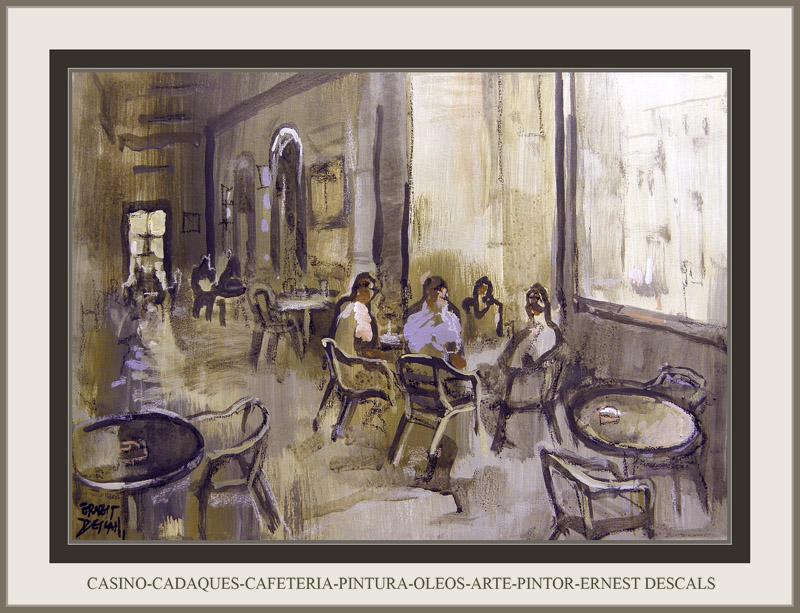 CASINO-CADAQUES-PINTURA-CAFETERIA-OLEOS-ARTE-PINTOR-ERNEST DESCALS