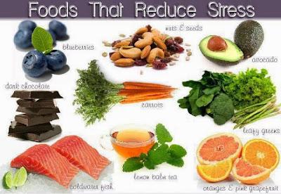 makanan hilangkan stress