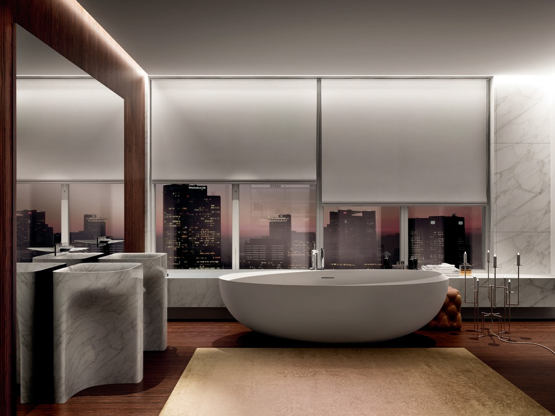 Bagno il lusso del benessere con teuco - Bagni moderni con vasca ...
