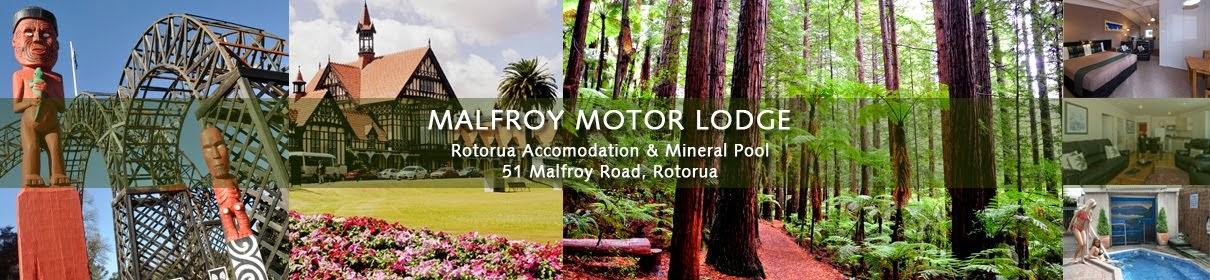 Rotorua Accommodation, MALFROY Motor Lodge Rotorua New Zealand