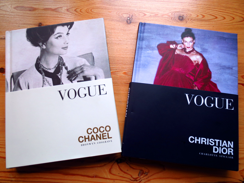 Vogue on Christian Dior Coco Chanel