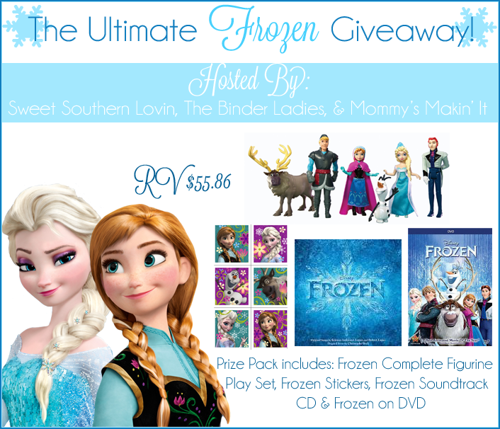 The Ultimate Frozen Giveaway