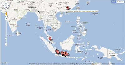 Dimana lokasi teman Facebookmu?