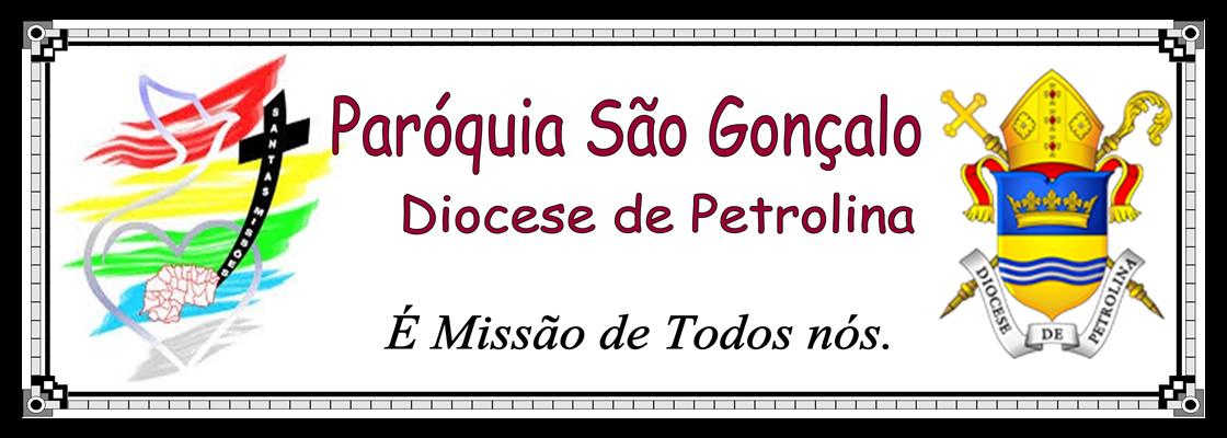 VISITE O BLOG DA PARÓQUIA SÃO GONÇALO
