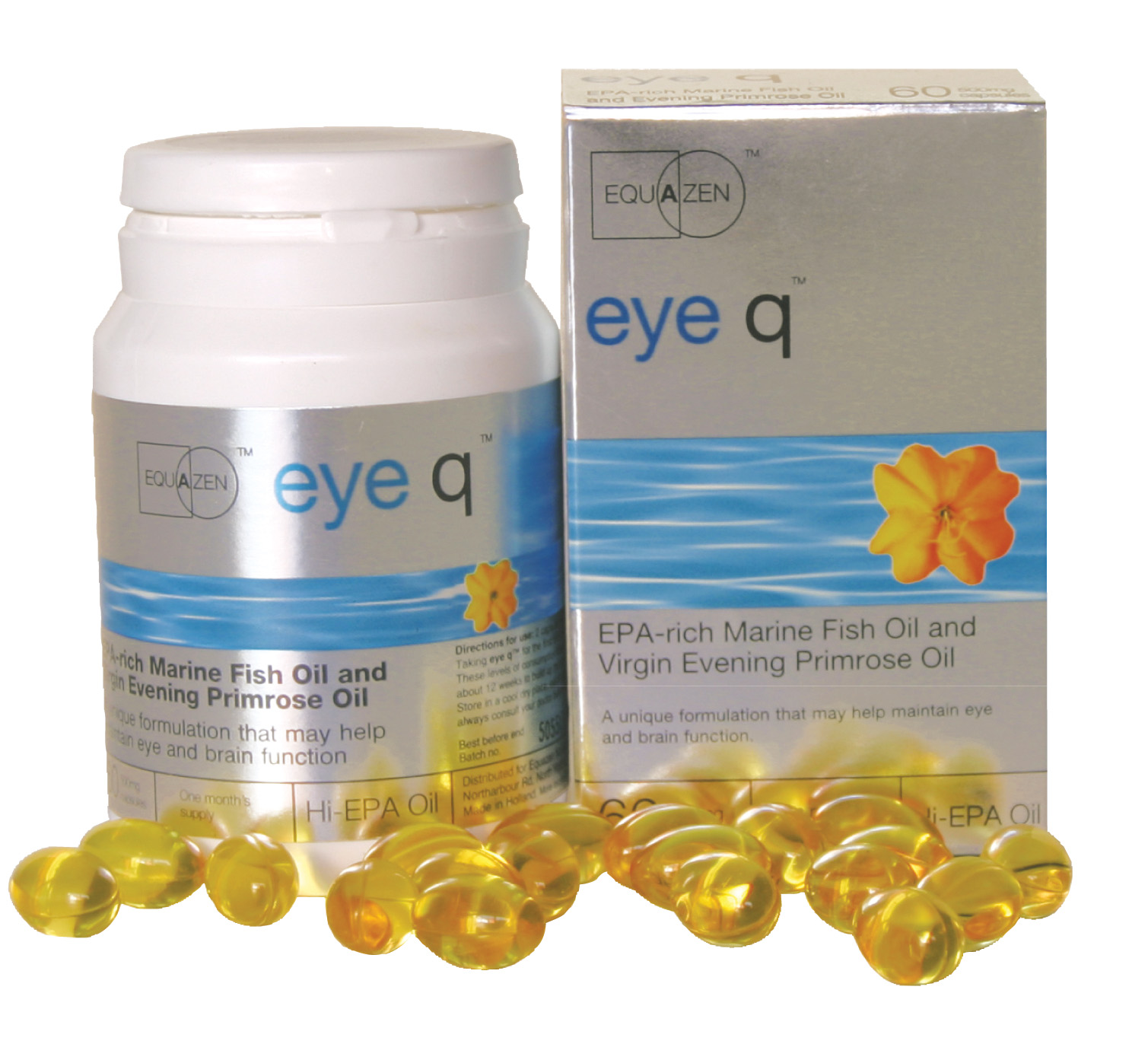 Freebees PR & Marketing: eye-q - FISH OIL BOOSTS