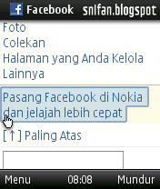 Pasang Facebook
