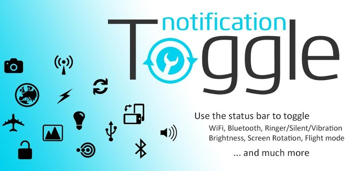تطبيق Notification Toggle للأندرويد