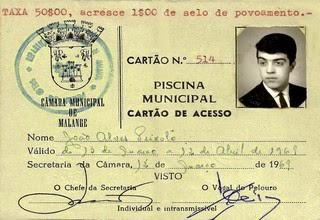 CARTÃO DE ACESSO HÁ PISCINA