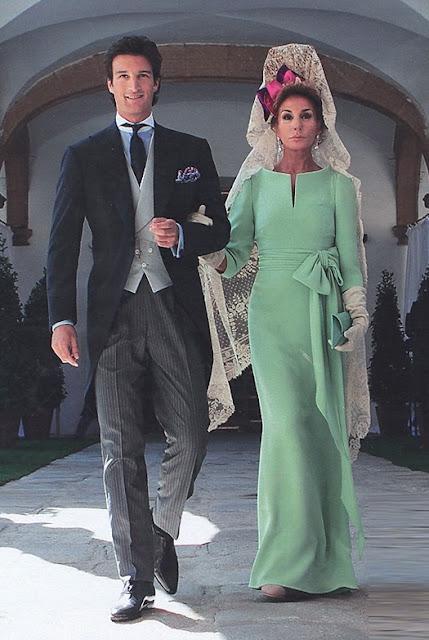 Naty Abascal madrina de boda