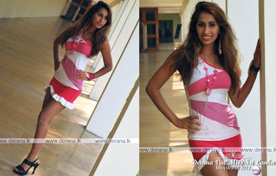 Derana Miss Srilanka 2012 - Miss Beautiful Legs