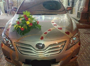 Wedding car decoration ideas in pakistan 2014 for Auto decoration in pakistan