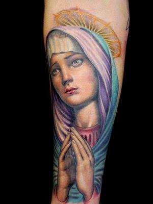 Tatuaje de La Virgen