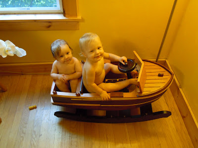 Jay: Wooden Rocking Boat How to Building Plans