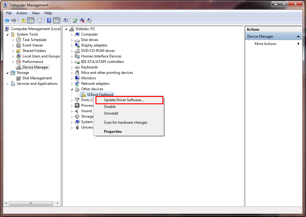 S1boot Fastboot драйвер скачать для Sony Xperia - фото 8
