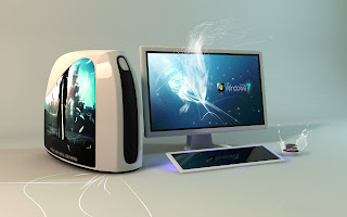 Beautiful Desktop Cabinet