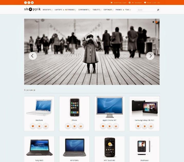 Shoppik - Responsive OpenCart Theme