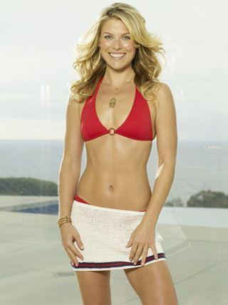 supermodel lingerie bikini