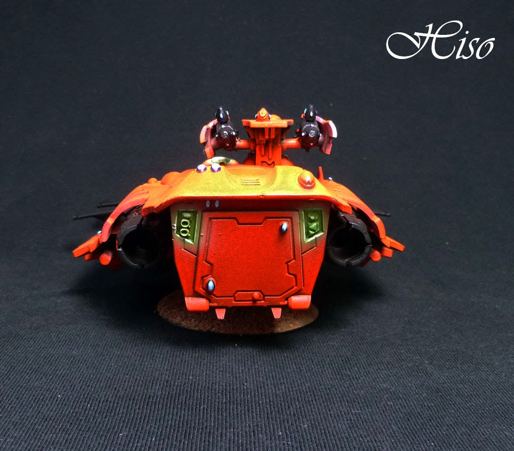 Wave Serpent Eldar Orange