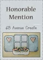 honourable mention at