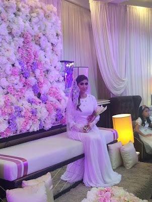 Maria Farida Sah Bergelar Isteri Kepada Datuk Rahman