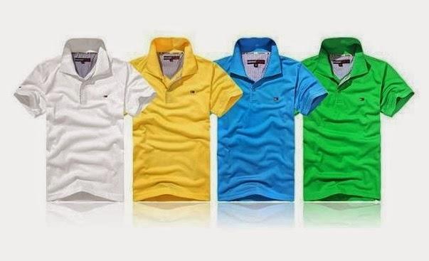 8fcbc4bc02 Linda camisa masculina polo Tommy Hilfiger. Fabricado com os materiais  Algodão