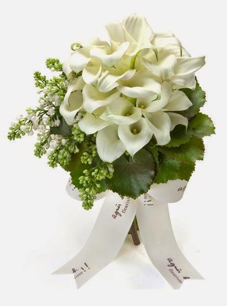 agnes b白色馬蹄蘭花球價錢