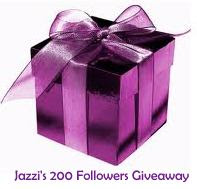 Jazzi's 200 Followers Giveaway