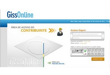 GissOnline - Emissao NF service