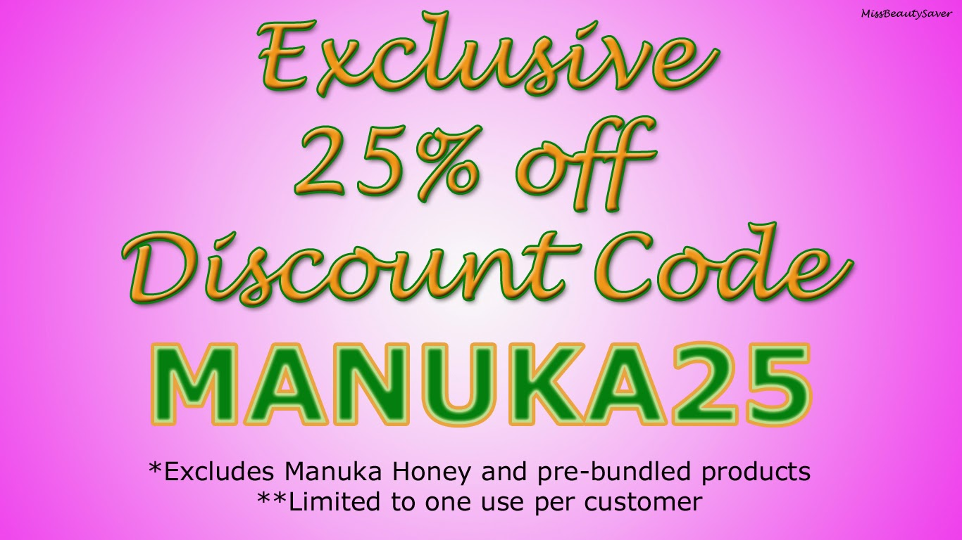 Exclusive 25% off Manuka Doctor Discount Code