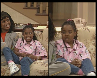 The Cosby show fashion blog Keshia Knight Pulliam Rudy Huxtable