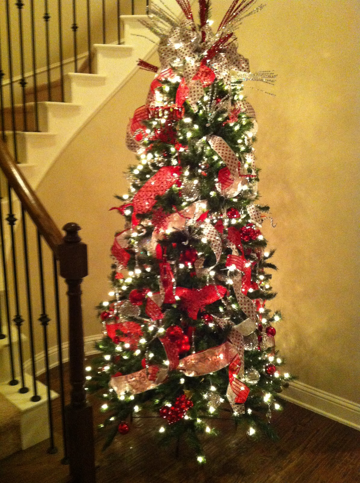 New house on the block christmas tree decorating tutorial How do you decorate a christmas tree