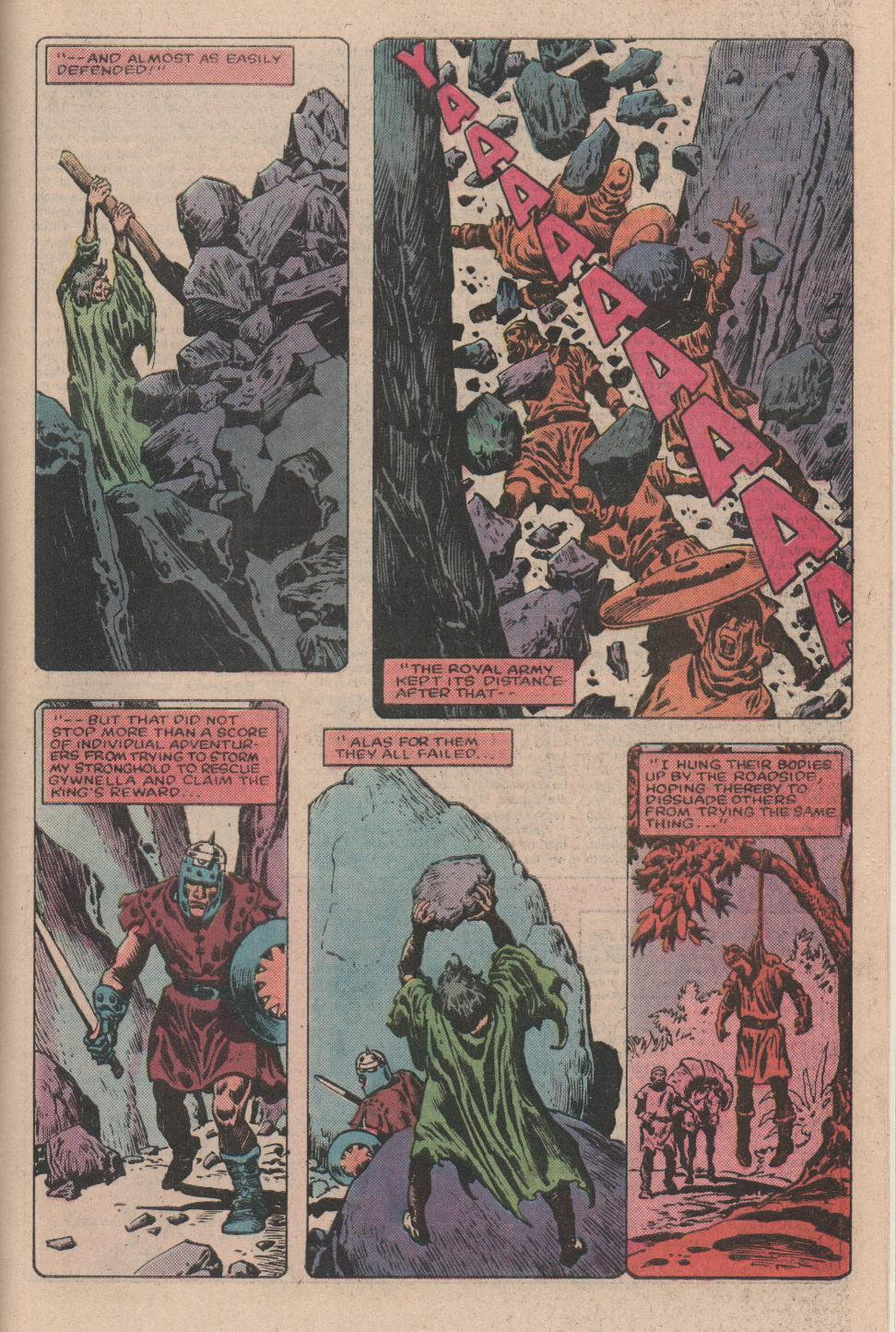 Conan the Barbarian (1970) Issue #157 #169 - English 20