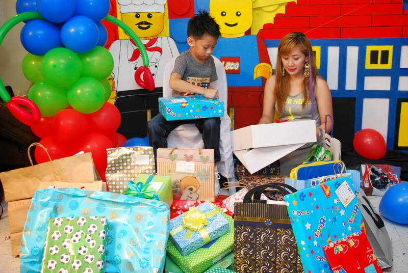 Thank You Everyone For Coming And Celebrating Ethan Ryus 7th Birthday Party With Us We Love Everyones Presence Presents