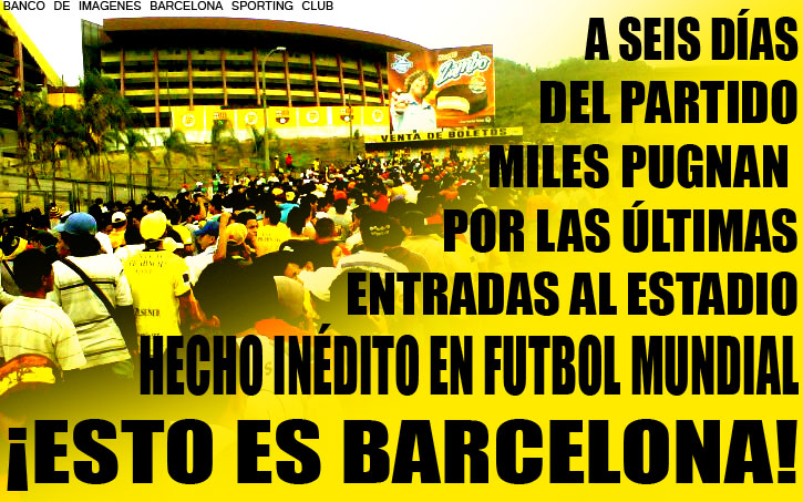 Frases de barcelona sporting club - Imagui
