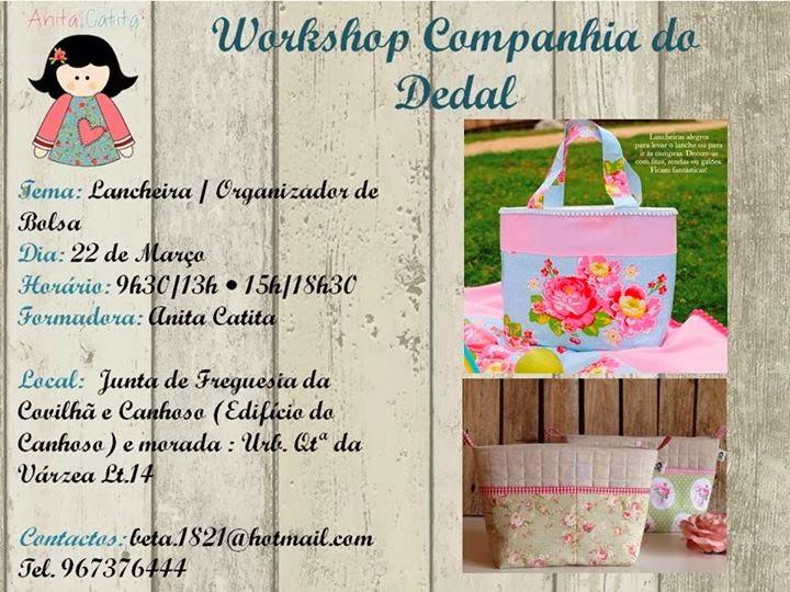Workshop de Costura (Lancheira / Organizador de Bolsa) – Covilhã