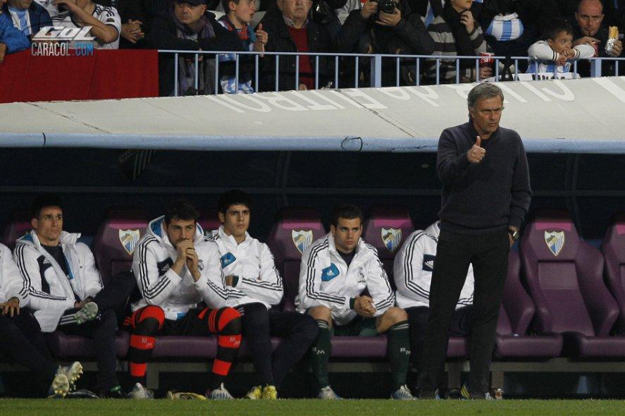 Casillas fue suplente después de 10 años