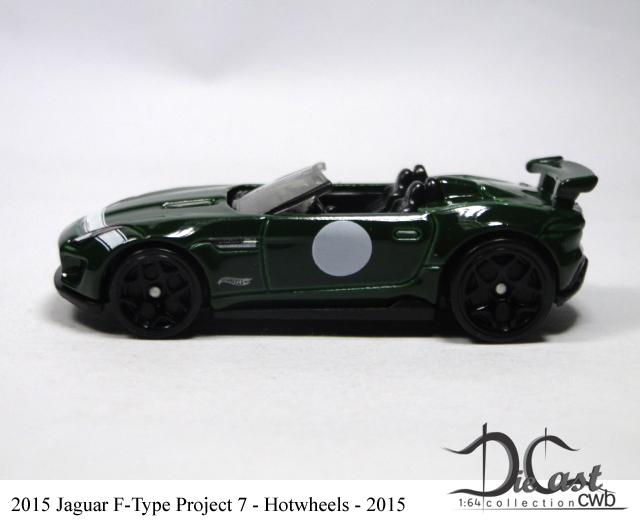 Modelo: 2015 Jaguar F Type Project 7. Fabricante: Hotwheels Mainline Ano De  Fabricação: 2015. Escala: 1/64
