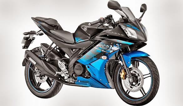 Tampilan 2 Warna Baru Yamaha YZF R15 Terbaru 2015