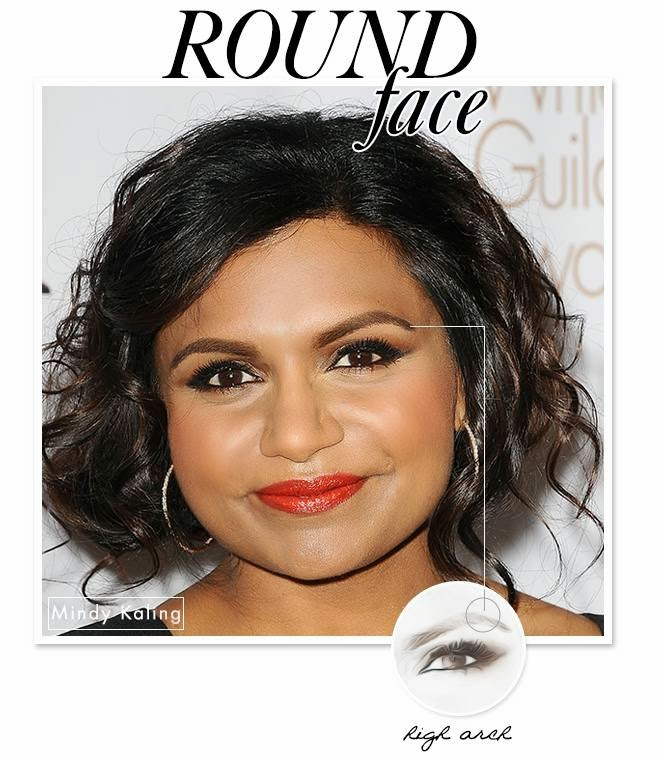 mindy kaling eyebrow shape