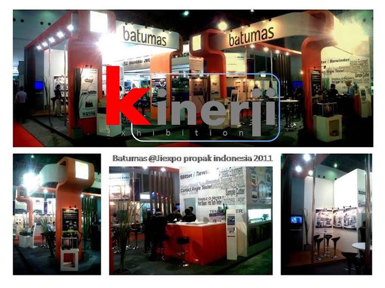booth stand pameran batumas @ Jiexpo kemayoran