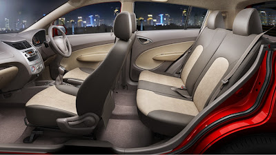 chevrolet sail u-va interiors