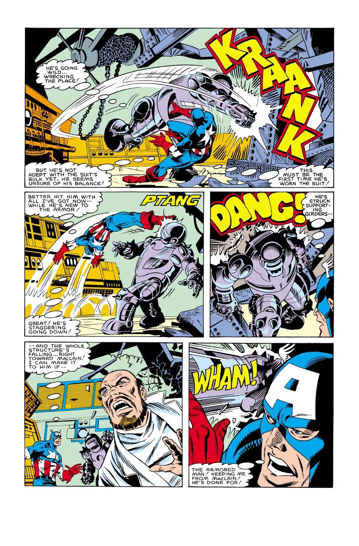 Captain America (1968) Issue #304 #232 - English 21