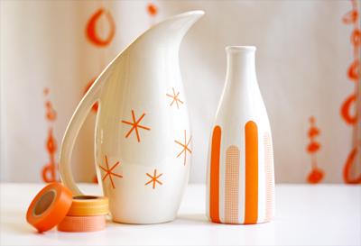 Diy decorating with masking tape how about orange - Decoration masking tape ...