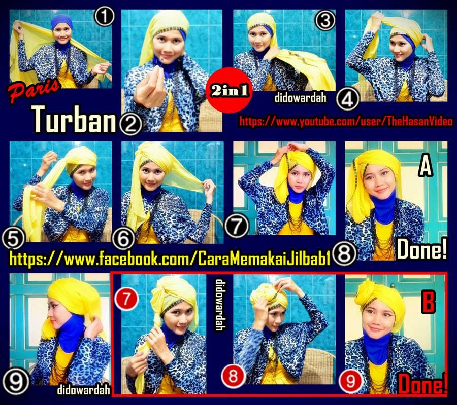 Image Hijab Style Tutorial By Didowardah Part 3 Hijabers 2013 Download