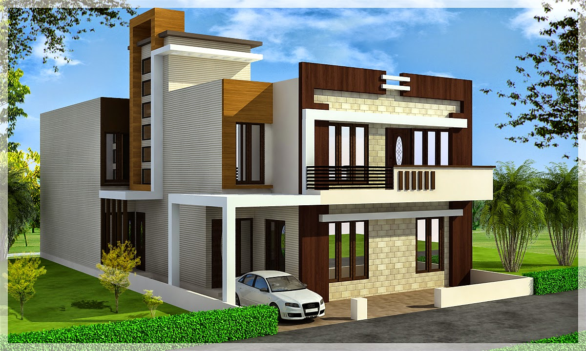 Ghar planner leading house plan and house design for Home exterior planner